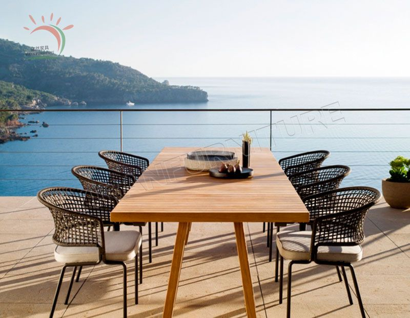 Hot Sale Furniture Garden Table and Chair Patio Dining Set