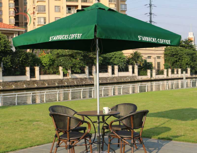 Good Price Outdoor Metal Umbrella for Home Use or Coffee Shop
