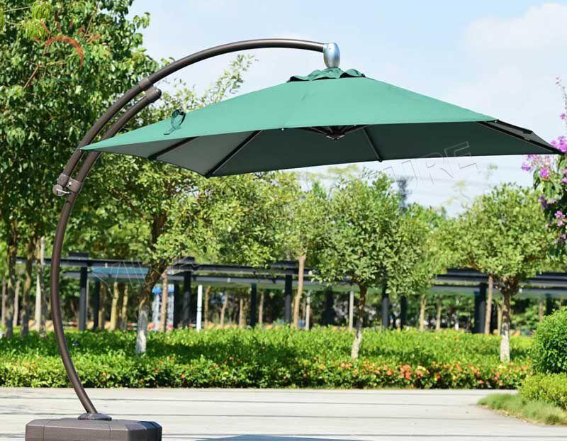 Casual Model Outdoor Furniture Rainproof Banana Umbrella for Garden Use