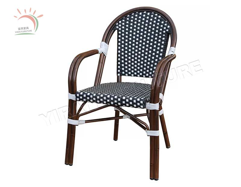 Stackable Outdoor Parisian Cafe Chair for Restaurant