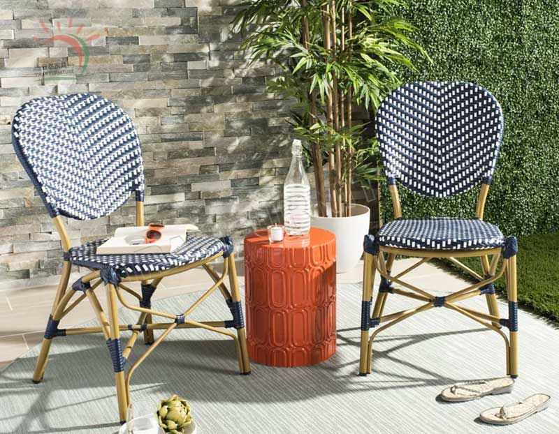 French Bistro Chairs Rattan